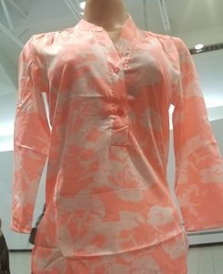 🔥🔥NEW beautiful Floral Pink/White Sexy Blouse